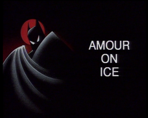 batman, série animée, TAS, title screen